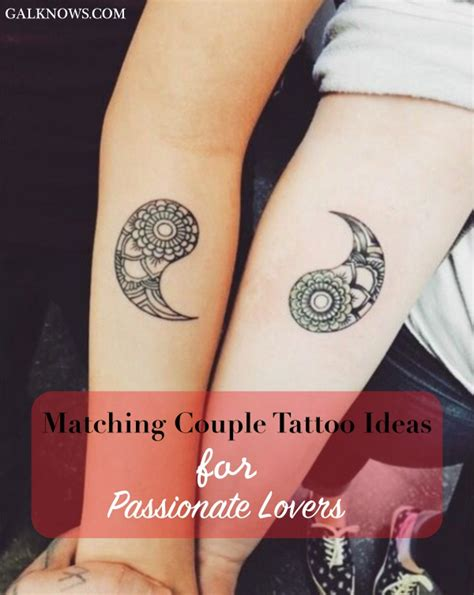 matching his and her tattoo designs 101 matching ideas for