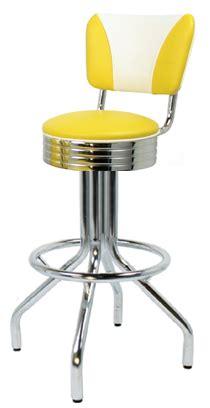 Single Leg Bar Stool by 250 782rbel New Retro Dining 24 Quot Or 30 Quot Revolving Single