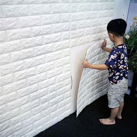 70x77cm pe foam 3d wall stickers safty home decor 60x60cm pe foam 3d wall paper safty home decor wallpaper