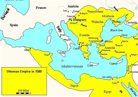 ottoman empire in europe timeline