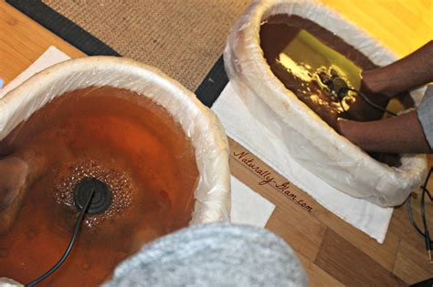 Detox Foot Bath Results by Holistic Healthcare With Dr Erica Ionic Foot Detox
