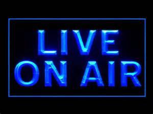 on air sign light live on air studio recording display new display led light