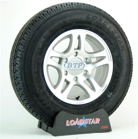 boat wheels and tires boat trailer tire st225 75r15 radial on aluminum wheel 6