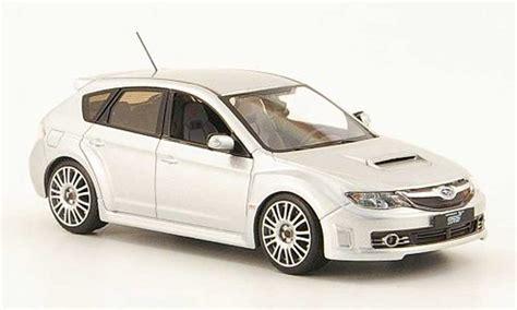 Diecast Subaru subaru impreza wrx sti gray 2008 ixo diecast model car 1