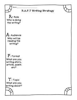 raft writing template raft writing template gallery free templates ideas