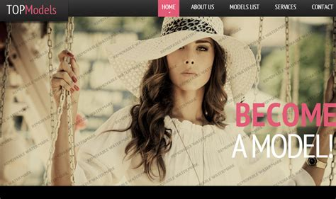 Top Best 20 Wordpress Fashion Responsive Themes Templates Model Agency Template