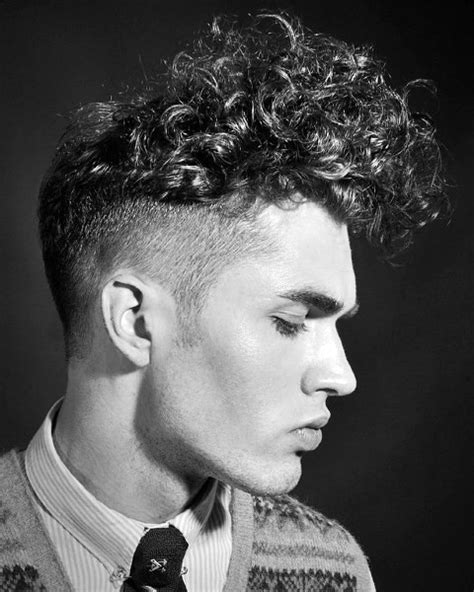 curly hairstyles with short sides 50 long curly hairstyles for men manly tangled up cuts