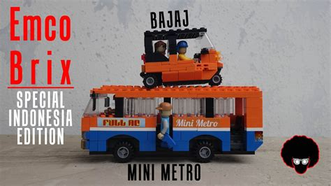 Lego Emco Metro Mini review 52 emco brix special indonesia edition bajaj