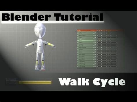blender tutorial youtube com blender tutorial basic walk cycle youtube