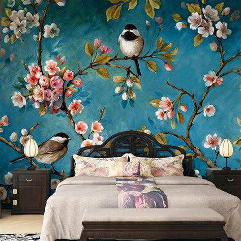 Bedroom Wallpaper Birds Popular Wallpaper Bird Buy Cheap Wallpaper Bird Lots From