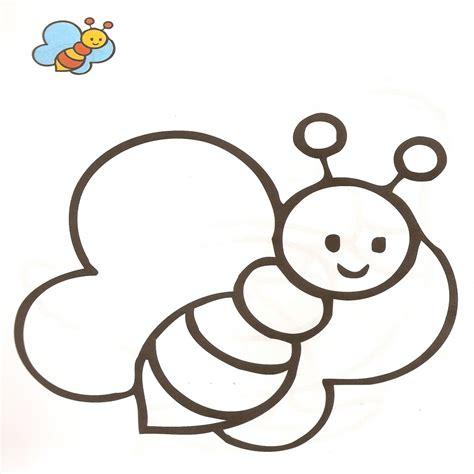 imagenes para pintar infantiles dibujos de la abeja maya para colorear y pintar la abeja