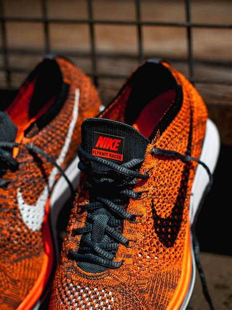 Nike Air Max Flyknit Total Orange nike flyknit racer total orange soletopia