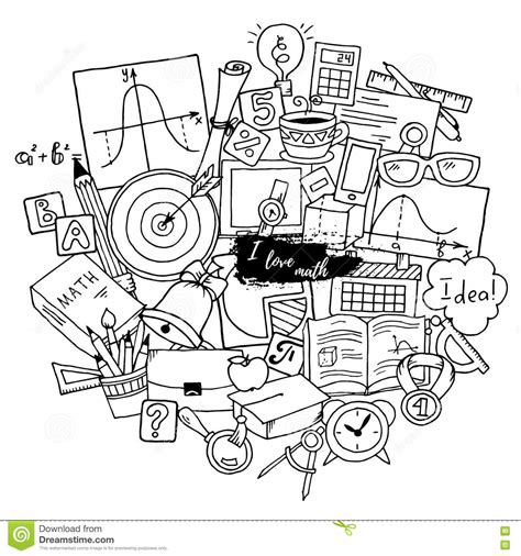 doodle maths for schools login mathematics science theme pattern about school