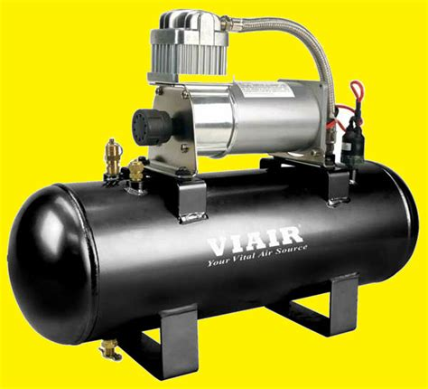 viair air ride suspension tank fast fill  onboard air