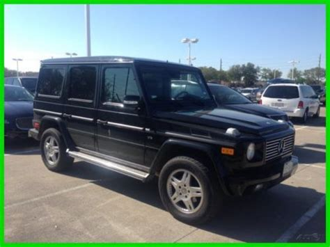 sell used 2004 mercedes benz g500 only 54k miles nav 4matic heat seats clean carfax in houston