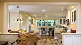 Kitchen And Living Room Spaces Small Open Floor Plans Small Homes Open Floor Plans 17