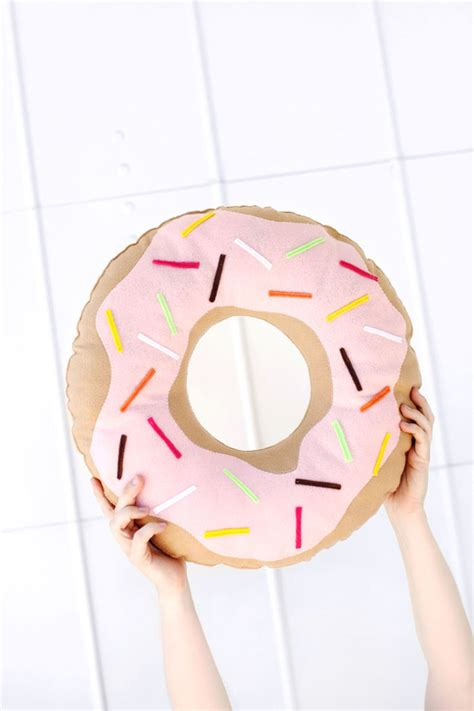 Donut Pillow Diy by 19 Diy Doughnut Projects That Are Enough To Eat