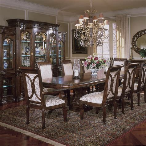 michael amini dining room furniture michael amini dining room sets aico villagio dining room set broadway furniture