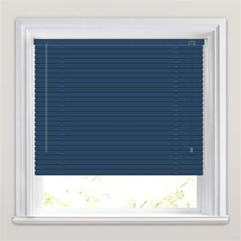 Venetian Blinds To Order Navy Blue Aluminium Venetian Blinds Made To Order
