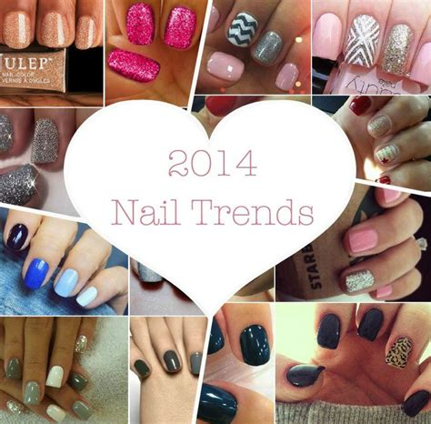 7 Fabulous Nail Trends To Try This Season by Nail Trends For 2014 Style Trends Nailpolsih Pedi