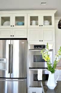 Glass Cabinets Kitchen How To Add Glass Inserts Into Your Kitchen Cabinets