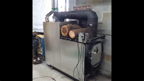 wood gasification furnaceboiler youtube