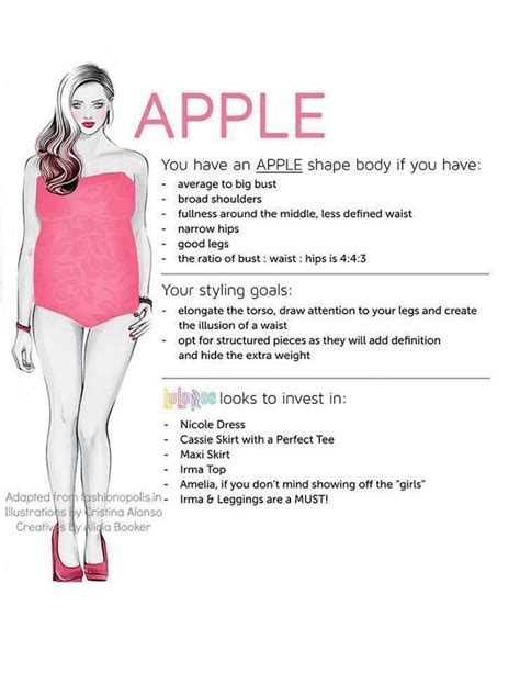 Apple Shape. Lularoe   Which styles are best for your body