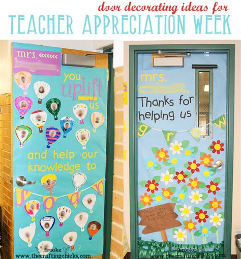 decorate your s door appreciation week