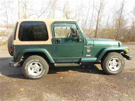 99 jeep wrangler top sell used 99 jeep wrangler 4x4 tilt cruise cd a c