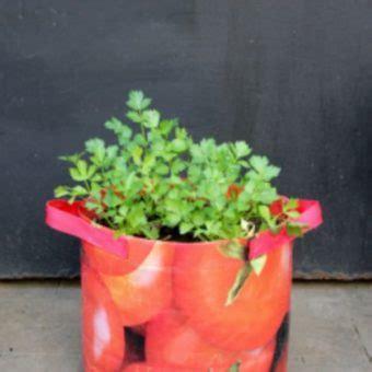 Planterbag 15 Liter Putih planter bag tomato print 15 liter bibitbunga