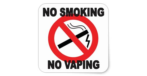 no smoking sign california no smoking no vaping sign sticker zazzle ca
