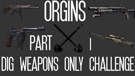 black ops 2 caign challenges origins dig weapons only challenge part 1 call of duty
