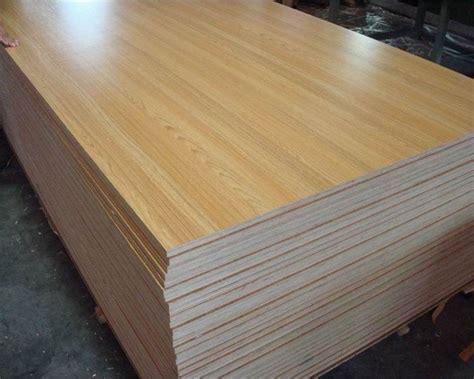 Single Sanding Surface Finishing And Laminated Wood Boards
