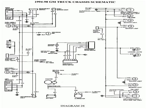 2001 gmc yukon xl wiring diagram schematic free