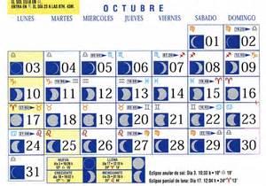 Calendario Octubre 2007 Calendario Lunar 2015