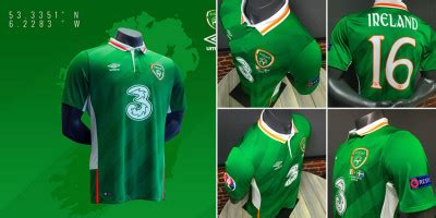 Irlandia Republik Away 2016 2016 jersey overview soccer365