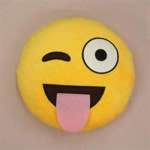 Emoticon Pillows by Emoji Cushion Pillow Emoticon Yellow Stuffed Plush