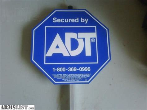 armslist for sale adt yard signs