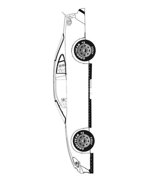 blank race car templates car printable template race car blank color your