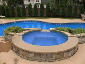 backyard pool and spa bloomington il home decorating