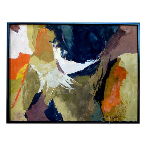 Wall Decorations For Dining Room an eloquent american 1960 s abstract expressionist