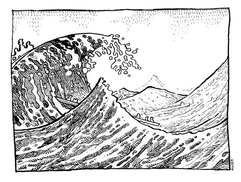 wave line drawing line drawing of a wave free pics for gt wave line drawing