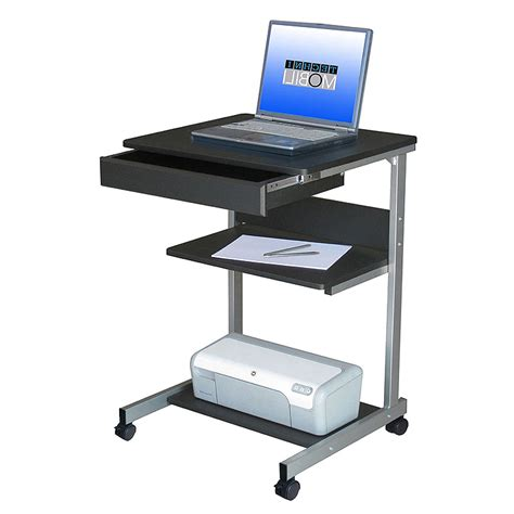 laptop storage cart on wheels review and photo