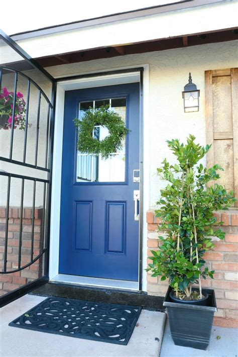 how to paint a front door without removing it terrific painting front door without removing gallery