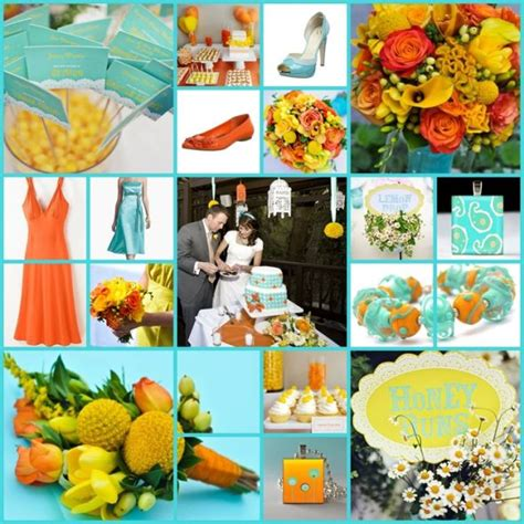 colors that go with yellow colour help orange and what weddingbee