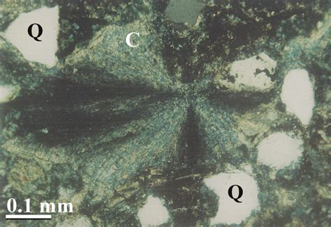 calcite cement in thin section diagenetic history 3 d reservoir characterization
