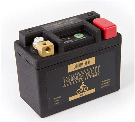 Suzuki Battery Suzuki Vl250 Intruder Ultra Light Motocell Gold Lithium