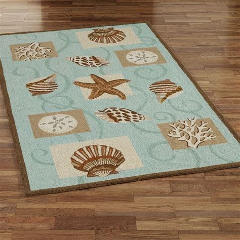 Seashell Bath Rugs by 17 Best Images About Tropical Bath Rugs On