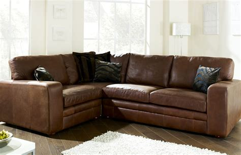 Corner Brown Leather Sofa The Different Options In Brown Leather Corner Sofa Bellissimainteriors