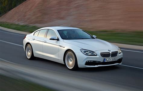 2015 bmw gran coupe 2015 bmw 6 series coupe convertible gran coupe revealed